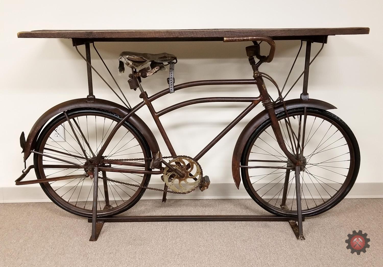 Vintage 1930s Bike Accent Table