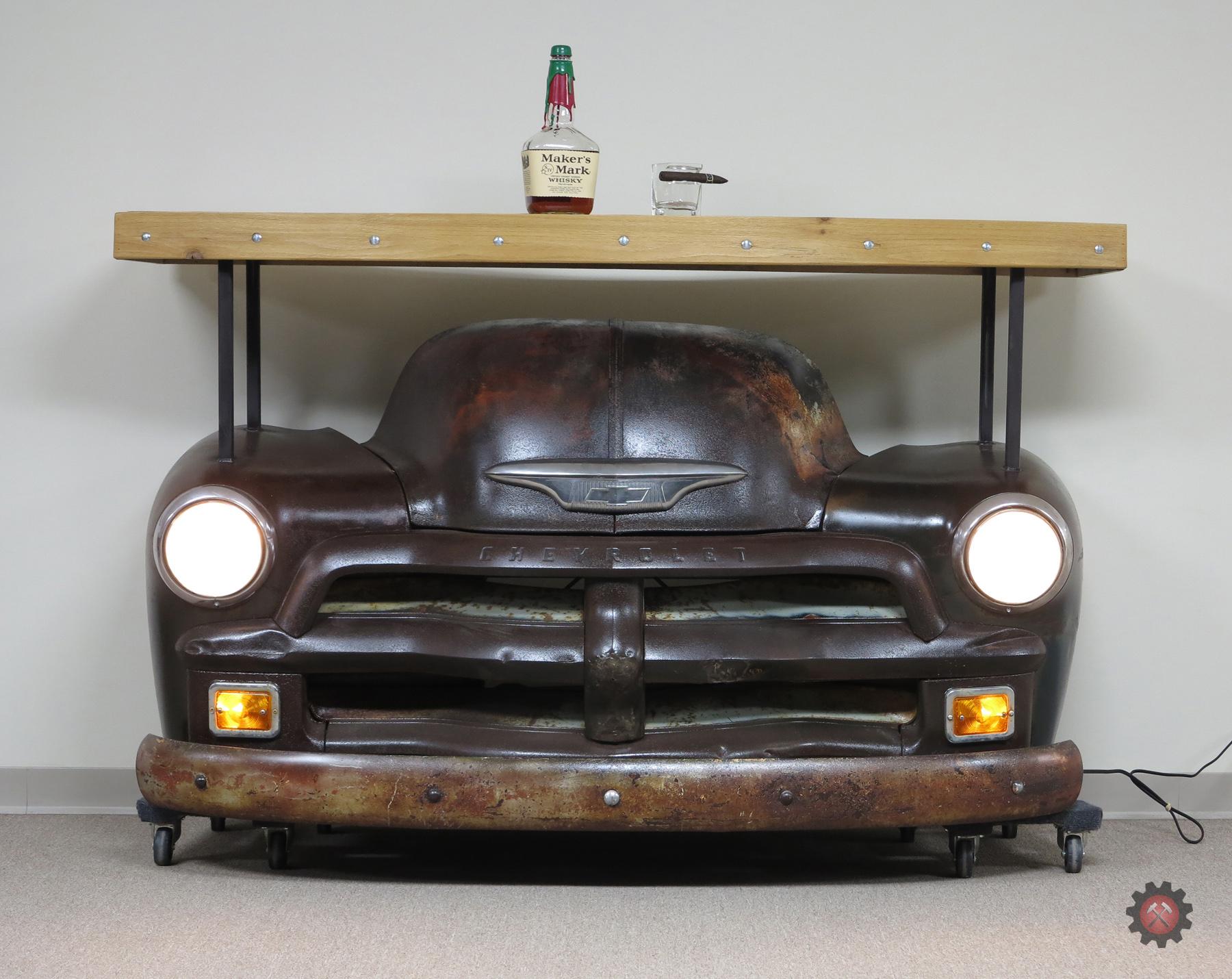 54/55 Chevrolet Truck Walk Behind Bar