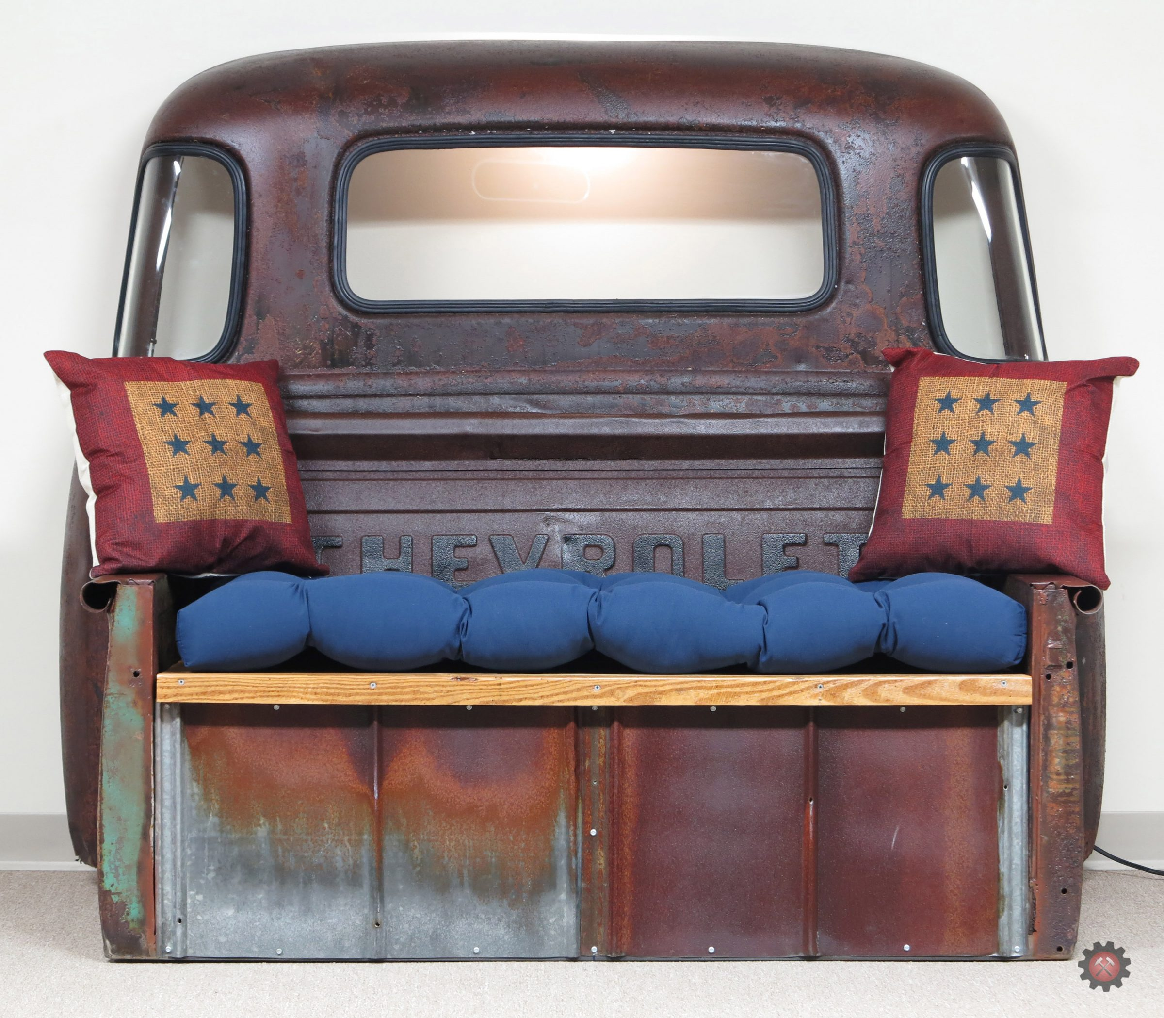 47/55 Truck Cab Bench