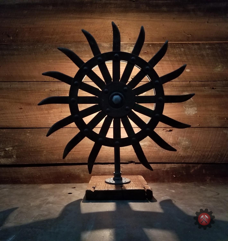 John Deere Tilling Wheel Lamp