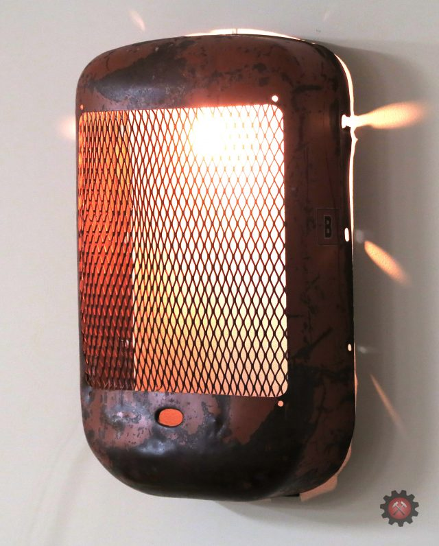 Vintage Tractor Grill Wall Light